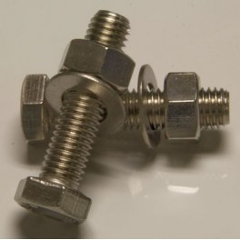 Nuts and bolts for towball